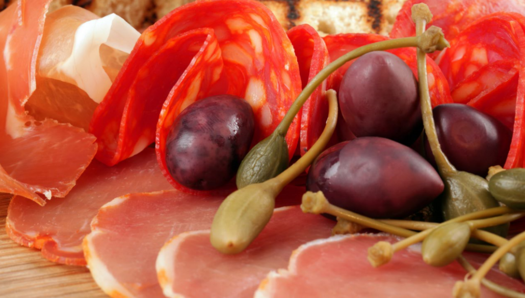 Spanish Charcuterie and Olives