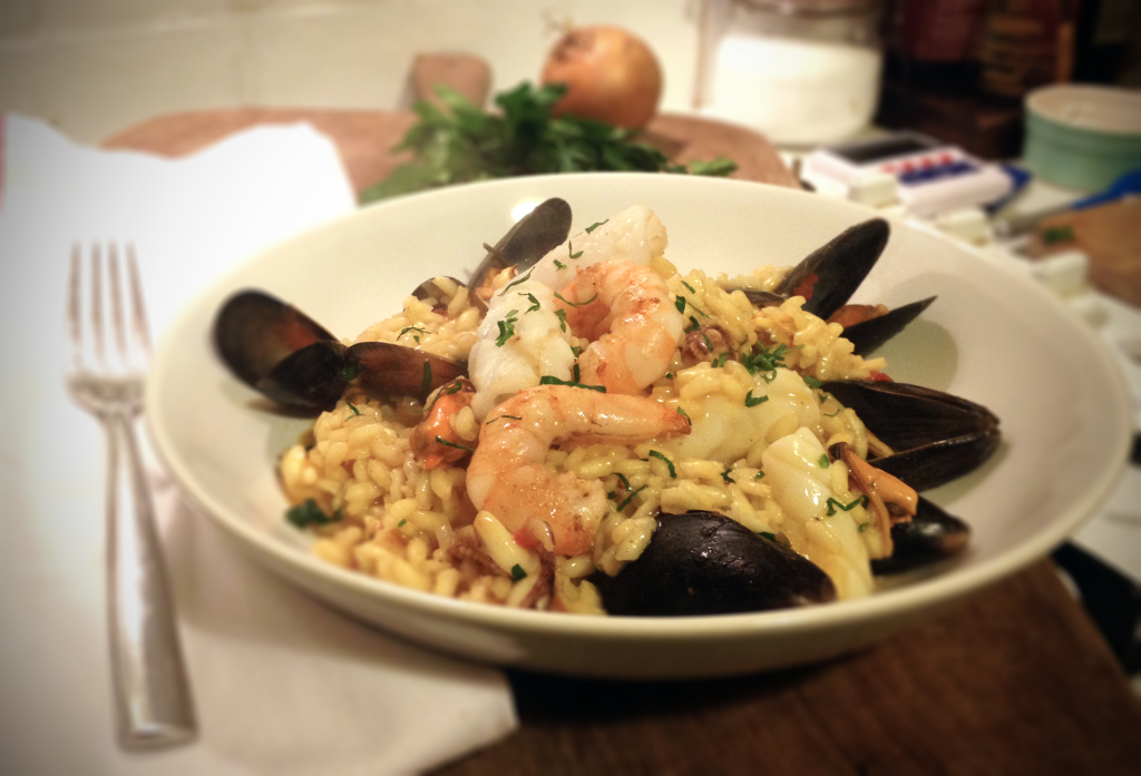 seafood-risotto valentine