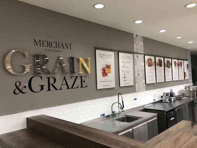 Merchant Gourmet's Grain & Graze Salisbury pop-up store