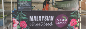 Nasi Lemak street food pop up
