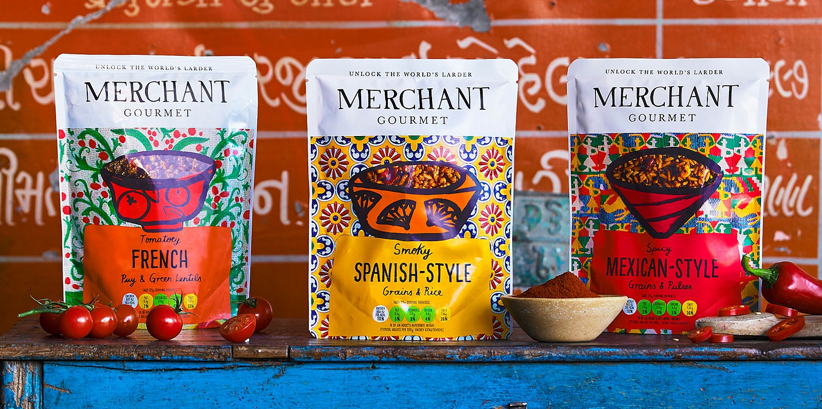 Merchant Gourmet Products French Spanish-Style and Mexican-Style